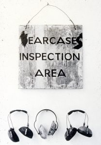 Ear-cases (gallery installation)