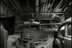 Site # 2 visit # 4 1960's Volvos inside the barn