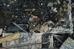 Site # 1 Visit # 5 Photogrammetric plan view of doorway into the burnt barn.